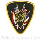 Huron Police Department Patch