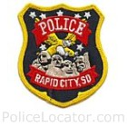 Rapid City Police Department Patch