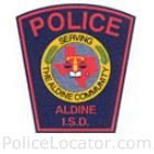 Aldine ISD Police Department Patch