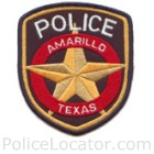 Amarillo Police Department Patch