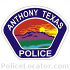Anthony Police Department Patch