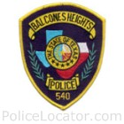 Balcones Heights Police Department Patch