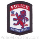 Baytown Police Department Patch