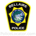 Bellaire Police Department Patch