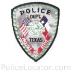 Bellmead Police Department Patch