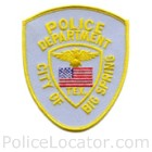 Big Spring Police Department Patch