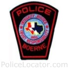 Boerne Police Department Patch