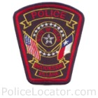 Brookside Village Police Department Patch