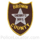 Brown County Sheriff's Office Patch