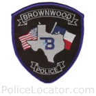 Brownwood Police Department Patch