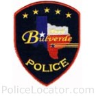 Bulverde Police Department Patch