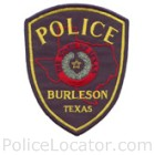 Burleson Police Department Patch