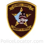 Caldwell County Sheriff's Office Patch
