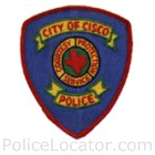 Cisco Police Department Patch