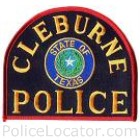 Cleburne Police Department Patch