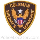 Coleman County Sheriff's Office Patch