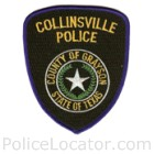 Collinsville Police Department Patch