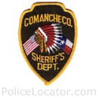 Comanche County Sheriff's Office Patch