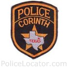 Corinth Police Department Patch
