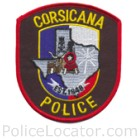 Corsicana Police Department Patch