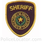 Dallas County Sheriff's Department Patch