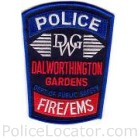 Dalworthington Gardens Department of Public Safety Patch