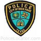 Deer Park Police Department Patch