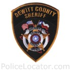 DeWitt County Sheriff's Office Patch