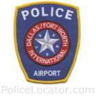 DFW International Airport Police Department Patch