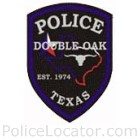 Double Oak Police Department Patch