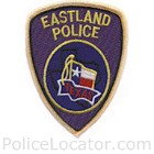 Eastland Police Department Patch