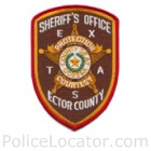 Ector County Sheriff's Office Patch