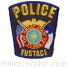 Eustace Police Department Patch