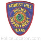 Forest Hill Police Department Patch