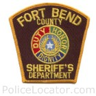 Fort Bend County Sheriff's Office Patch