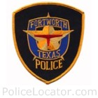 Fort Worth Police Department Patch