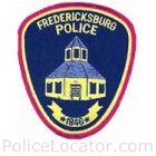Fredericksburg Police Department Patch
