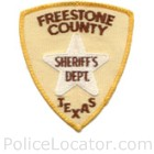 Freestone County Sheriff's Office Patch