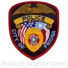 Friona Police Department Patch