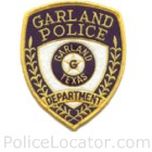 Garland Police Department Patch