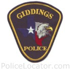 Giddings Police Department Patch