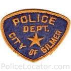 Gilmer Police Department Patch