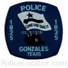 Gonzales Police Department Patch