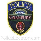 Granbury Police Department Patch