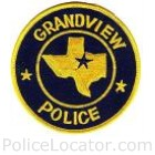Grandview Police Department Patch