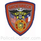 Groesbeck Police Department Patch