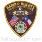 Harker Heights Police Department Patch