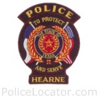 Hearne Police Department Patch