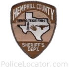 Hemphill County Sheriff's Office Patch
