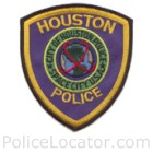 Houston Police Department Patch